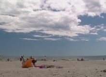 Plaja pustie unde turistii gasesc linistea. Locul de la Marea Neagra inclus in topul celor mai curate plaje din lume