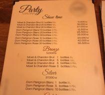 Prețurile fabuloase din meniul unui club de lux din Mamaia Nord