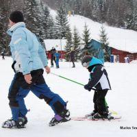 Sfaturi pentru schiori incepatori: Prima coborare pe partie