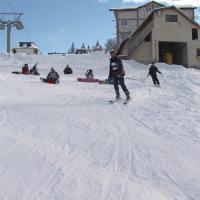 Se anunta un weekend perfect pentru schi, in Vestul tarii. Situatia partiilor din Hunedoara si Caras Severin