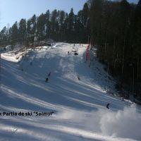 Cea mai noua partie de schi din Romania, inaugurata azi. In prima zi accesul e gratuit