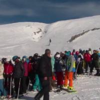 10.000 de turisti schiaza zilele acestea pe Valea Prahovei. Starea partiilor in cele mai importante statiuni montane din tara