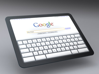 Google pregateste un tablet PC care sa concureze cu iPad-ul Apple