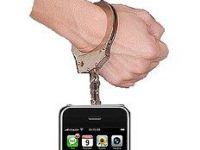 Cu iPhone-uri la ciorap