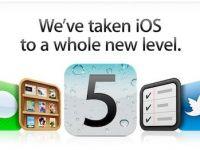 Acum poti sa descarci iOS 5, noul sistem de operare de la Apple
