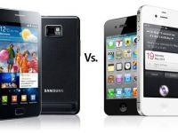 VIDEO Dai cu el de pamant si nu crapa! Vezi care rezista si care se face praf, iPhone 4S sau Samsung Galaxy S II