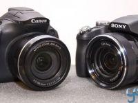 Liga superzoom: Canon SX40 HS vs Sony HX 100V