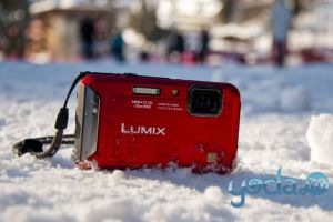 Yeti sau Scufita Rosie - REVIEW Panasonic Lumix TS20