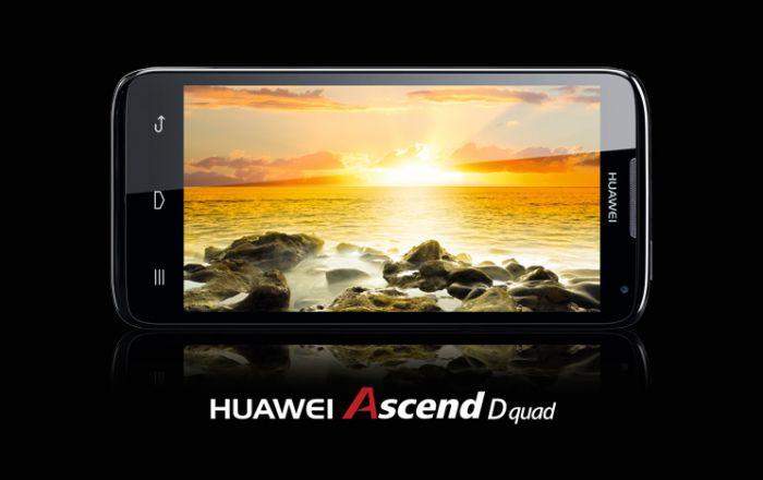 Huawei Ascend D quad