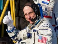 Astronautii se joaca exact ca niste copii, pe Statia Spatiala Internationala