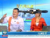 Mihai Dedu si Lavinia Petrea -  atacati  LIVE de un elicopter dirijat de George Buhnici la iLikeIT