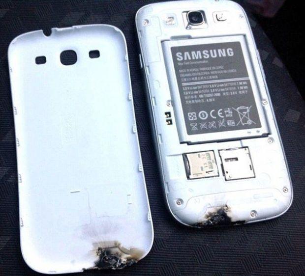 Samsung vine cu declaratii dupa incidentul in care un Galaxy S III a explodat in Irlanda