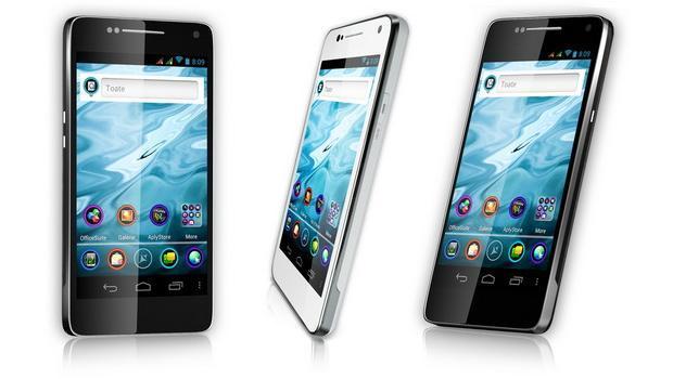 Allview P4 DUO, primul smartphone dual-SIM romanesc cu ecran Super Amoled. VIDEO REVIEW