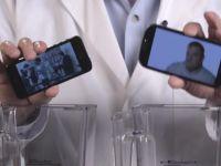 iPhone 5 si Galaxy S III in cel mai nebun test posibil. Care dintre telefoane castiga