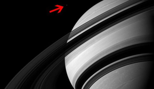 NASA, uimita. Fotografia incredibila pe care o vei privi minute in sir. Ce se afla langa planeta Saturn