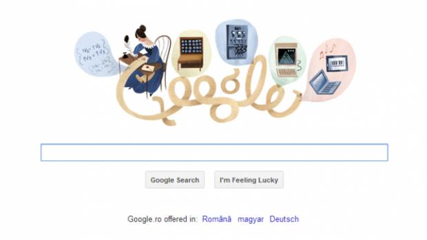 Google o sarbatoreste azi pe Ada Lovelace, considerata primul programator din lume Google-o-sarbatoreste-azi-pe-ada-lovelace-considerata-primul-programator-din-lume_size1