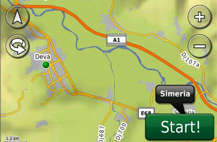 Cea mai detaliata harta GPS a Romaniei contine acum toate portiunile finalizate din A1
