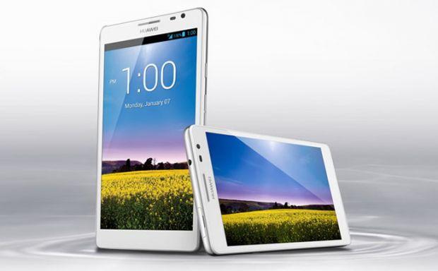 Huawei Ascend Mate, cel mai mare smartphone din lume. Are un ecran mai mare decat Galaxy Note II