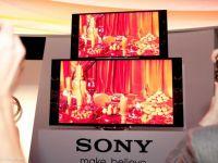 Sony Xperia Z si TV-ul 4K OLED, spectaculoase. Toate lansarile Sony de la CES 2013