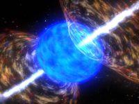 Terra, lovita de o explozie de raze gamma, in secolul VIII, rezultate din ciocnirea a doua gauri negre