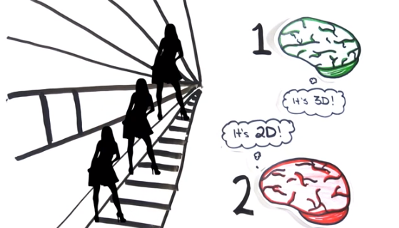 VIDEO De ce avem iluzii optice si gresim la intrebari simple? Asa functioneaza creierul tau