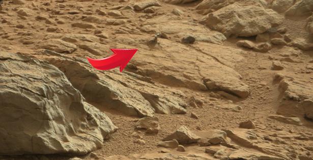 Iese din pamant si nimeni nu intelege ce este! Obiectul  inexplicabil descoperit pe Marte