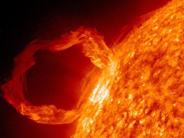 VIDEO Imagini din Iad: NASA a filmat o eruptie solara extrem de violenta