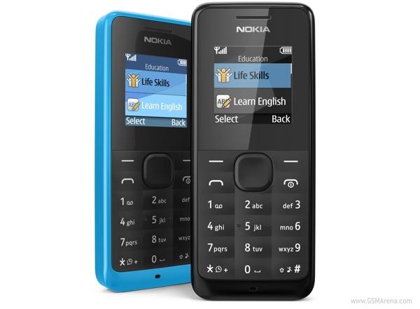 Nokia 105 si 301, doua telefoane ieftine. Pretul: de la 15 euro