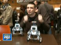 Jucariile de la MWC 2013. Robotii care nu cad niciodata din picioare. VIDEO