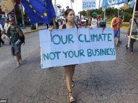 Incalzirea globala, o tema prea putin importanta in vremuri de recesiune