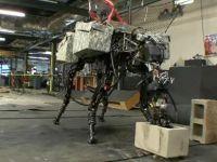 Cel mai inspaimantator robot al momentului. Cainele  razboinic  construit de Boston Dynamics. VIDEO