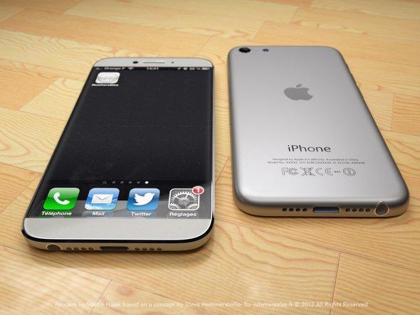 iPhone 6 cu un ecran gigant? Imagini superbe cu felul in care ar putea arata telefonul pe care Apple il va lansa anul acesta