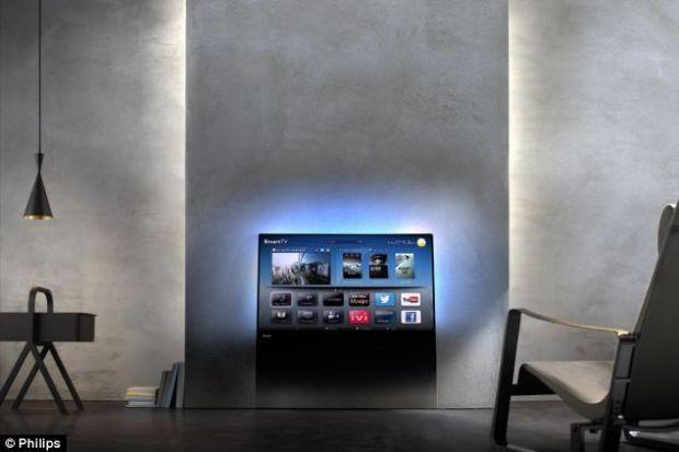 Philips prezinta televizorul care  se camufleaza