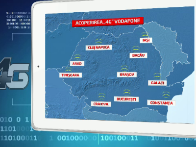 Problemele din retelele Vodafone in 7 tari europene vor fi monitorizate si gestionate din Romania