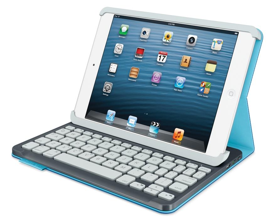 Logitech Keyboard Folio si Logitech Keyboard Folio Mini, noile accesorii pentru iPad si iPad Mini