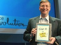 Bill Gates considera ca tabletele sunt  limitate