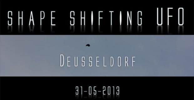 Un OZN care isi schimba forma, filmat zilele trecute in Germania. VIDEO