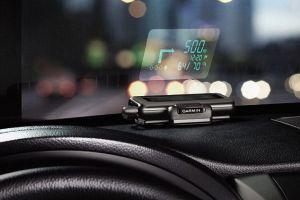 Directia propusa de GPS se poate proiecta pe parbriz pentru ca soferul sa nu-si mai ia ochii de la drum