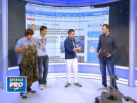 N-au terminat scoala, dar au inventii mari: geaca cu senzori si robotul care elimina bombe