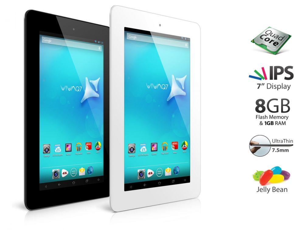 Allview Viva Q7 si Q8, noile tablete lansate azi de brasoveni. Subtiri, elegante, cu quad-core