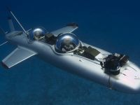 Avionul subacvatic care se deplaseaza prin apa mai bine ca submarinele. Cum reuseste?