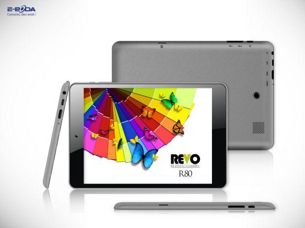 E-Boda Revo R80, o tableta quad-core pentru cei care vor jocuri 3D