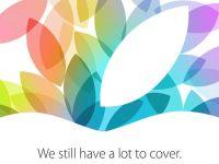 iPad Mini 2 si iPad 5 vor fi lansate pe 22 octombrie. Invitatia oficiala facuta de Apple la eveniment