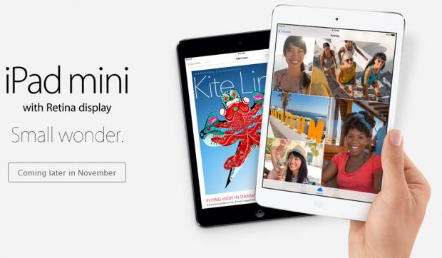 iPad mini primeste Retina Display si un procesor mai puternic