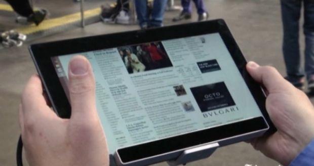 Prima tableta din lume care face asta! Milioane de oameni isi vor lua ramas bun de la iPad si Samsung Galaxy Tab: