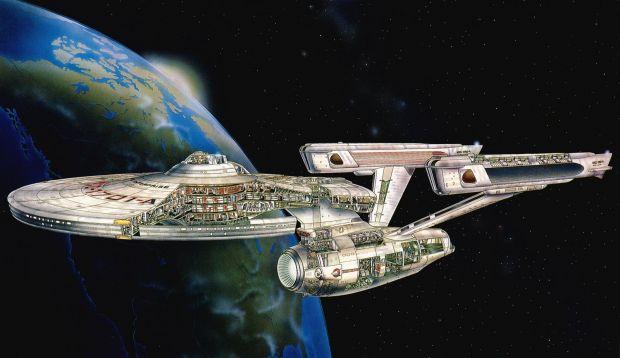 A investit 30.000 de dolari pentru a-si construi decorul din Star Trek. Cum arata casa
