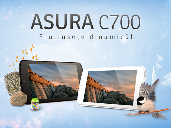 Asura C700, a treia tableta a timisorenilor de la nJoy, are 7  si costa 370 RON