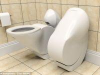 Economie de loc si consum de apa cu vasul de toaleta pliabil