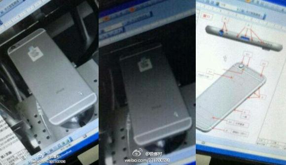 Noua fotografie cu iPhone 6. Vor exista doua modele de telefon, cu ecran mai mare decat iPhone 5