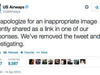Mesajul indecent primit pe Twitter de un client nefericit de la US Airways
